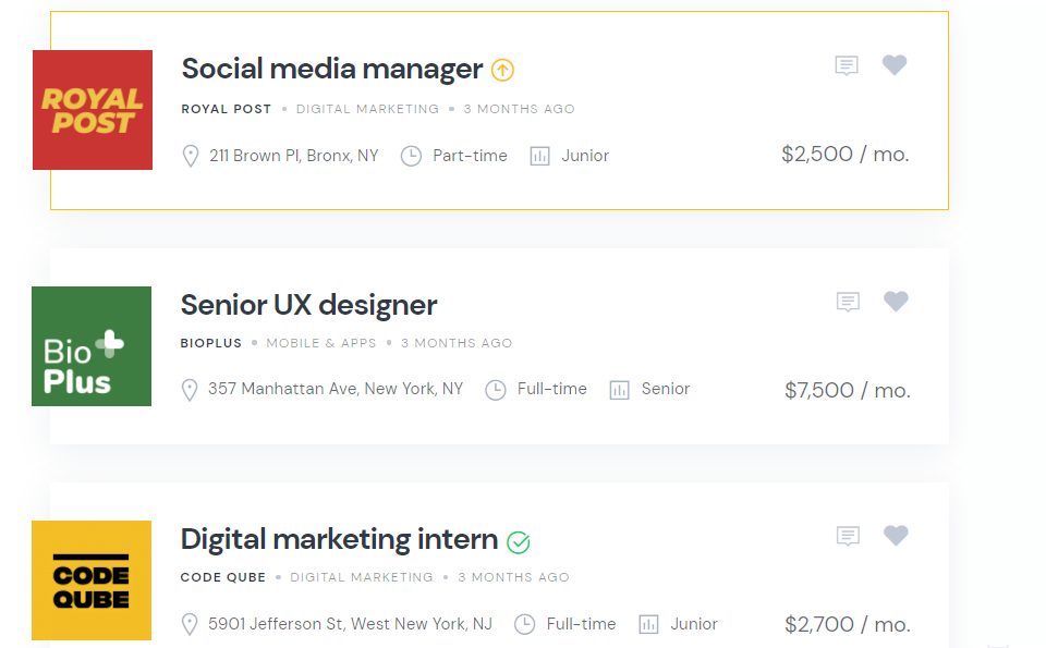 Monetize a job board by charging companies for featuring job listings.