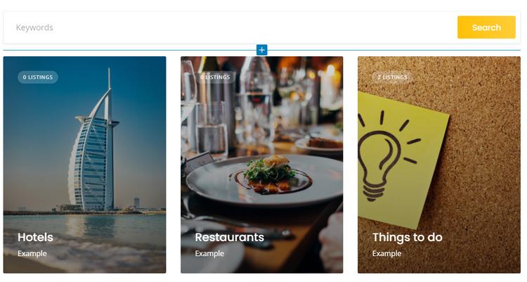 A website like Tripadvisor built with WordPress