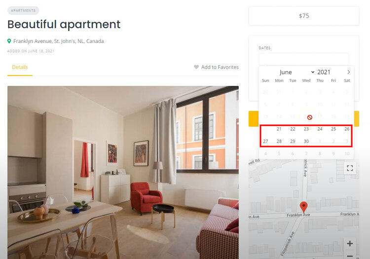 Create a Booking Website like Airbnb